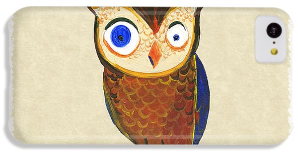 Owl IPhone 5c Case by Kristina Vardazaryan