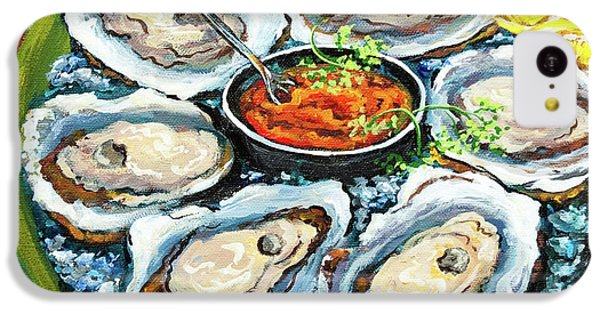 Oysters On The Half Shell IPhone 5c Case by Dianne Parks