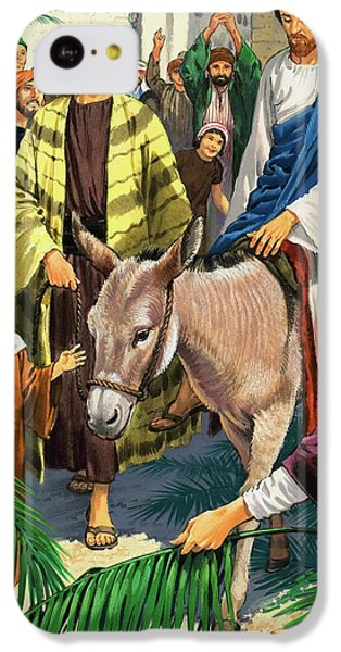 Palm Sunday IPhone 5c Case by Clive Uptton