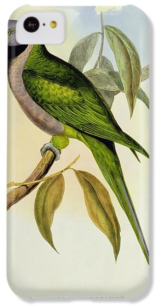 Parakeet IPhone 5c Case by John Gould