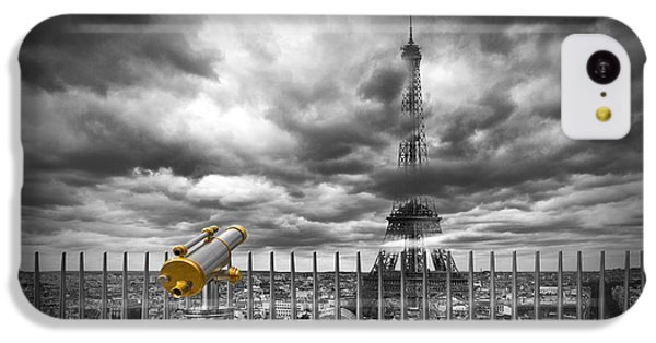 Paris Composing IPhone 5c Case by Melanie Viola