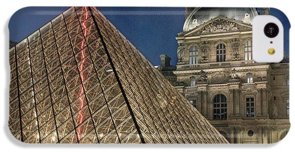 Paris Louvre IPhone 5c Case by Juli Scalzi
