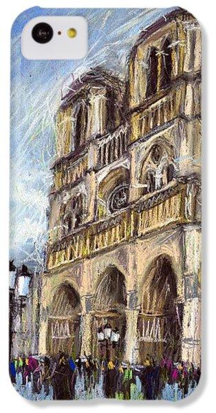 Paris Notre-dame De Paris IPhone 5c Case by Yuriy  Shevchuk
