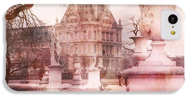 Paris Tuileries Park Garden - Jardin Des Tuileries Garden - Paris Tuileries Louvre Garden Sculpture IPhone 5c Case by Kathy Fornal