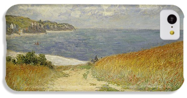 Path In The Wheat At Pourville IPhone 5c Case by Claude Monet