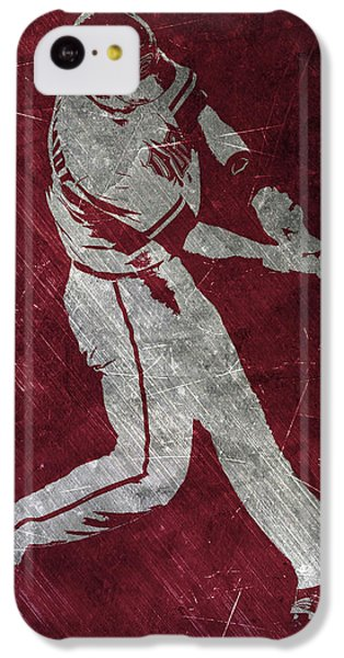 Paul Goldschmidt Arizona Diamondbacks Art IPhone 5c Case by Joe Hamilton