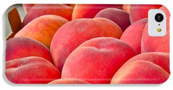 Peaches For Sale IPhone 5c Case by Gwyn Newcombe