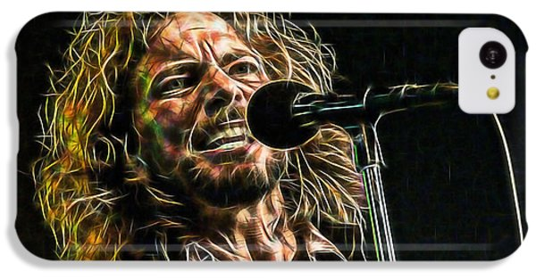 Pearl Jam Eddie Vedder Collection IPhone 5c Case by Marvin Blaine