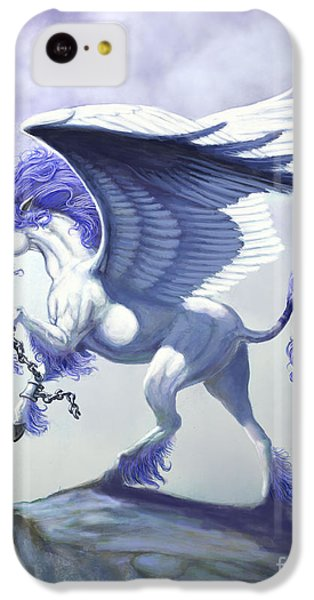 Pegasus Unchained IPhone 5c Case by Stanley Morrison