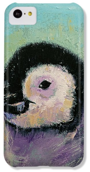 Penguin Chick IPhone 5c Case by Michael Creese