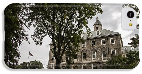Penn State Old Main And Tree IPhone 5c Case by John McGraw