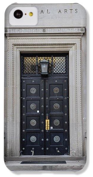 Penn State University Liberal Arts Door  IPhone 5c Case by John McGraw