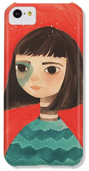 Permanent Contemplation IPhone 5c Case by Carolina Parada