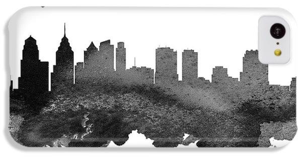 Philadelphia Pennsylvania Skyline 18 IPhone 5c Case by Aged Pixel