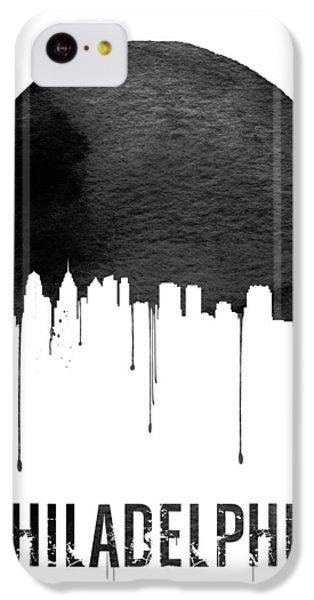 Philadelphia Skyline White IPhone 5c Case by Naxart Studio