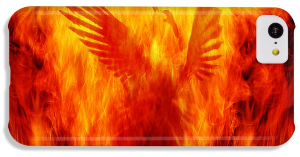 Phoenix Rising IPhone 5c Case by Andrew Paranavitana