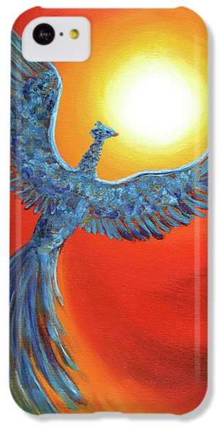 Phoenix Rising IPhone 5c Case by Laura Iverson