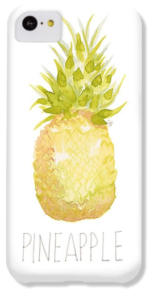 Pineapple IPhone 5c Case by Cindy Garber Iverson