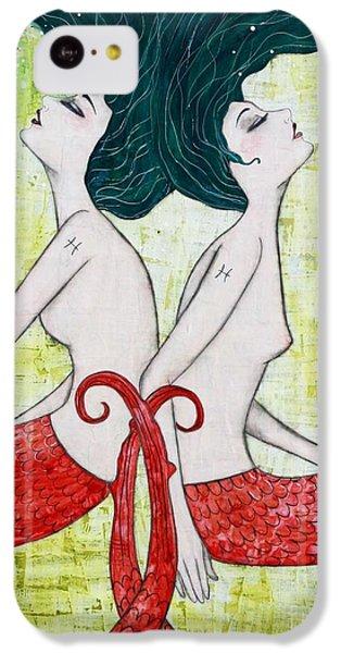 Pisces Mermaids IPhone 5c Case by Natalie Briney
