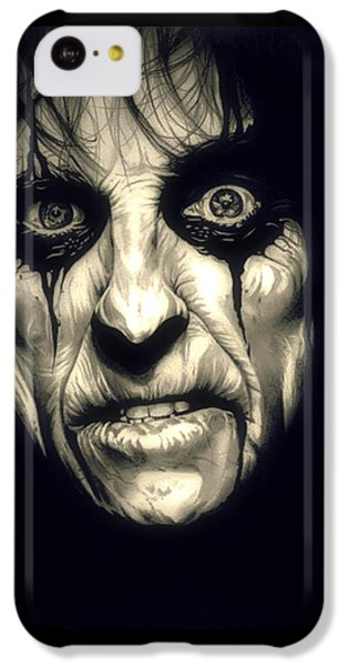 Poison Alice Cooper IPhone 5c Case by Fred Larucci