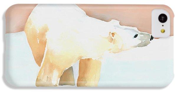 Polar Bear IPhone 5c Case by Arline Wagner