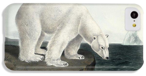 Polar Bear IPhone 5c Case by John James Audubon