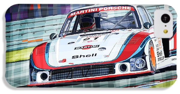 Porsche 935 Coupe Moby Dick Martini Racing Team IPhone 5c Case by Yuriy  Shevchuk