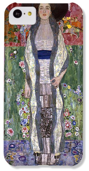Portrait Of Adele Bloch-bauer II IPhone 5c Case by Gustav Klimt