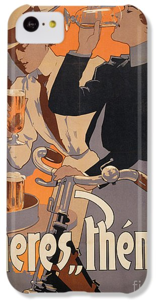 Poster Advertising Phenix Beer IPhone 5c Case by Adolf Hohenstein