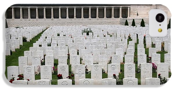 IPhone 5c Case featuring the photograph Pozieres British Cemetery by Travel Pics