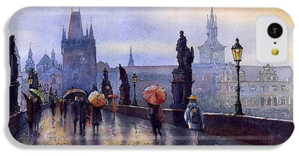 Prague Charles Bridge IPhone 5c Case by Yuriy  Shevchuk