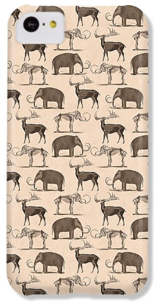 Prehistoric Animals IPhone 5c Case by Antique Images