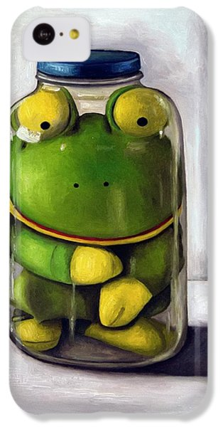 Preserving Childhood IPhone 5c Case by Leah Saulnier The Painting Maniac