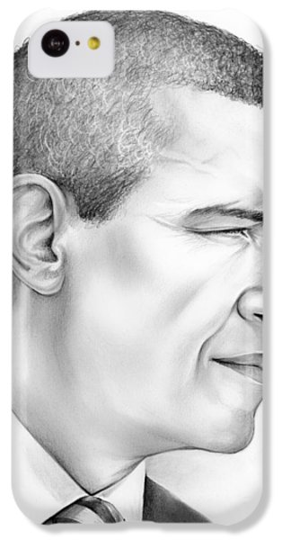 President Obama IPhone 5c Case by Greg Joens