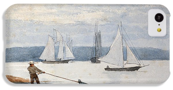 Pulling The Dory IPhone 5c Case by Winslow Homer