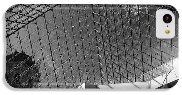 Pyramide Du Louvre IPhone 5c Case by Sebastian Musial