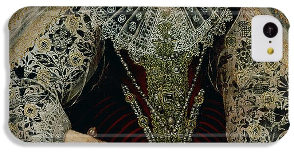 Queen Elizabeth I IPhone 5c Case by John the Younger Bettes