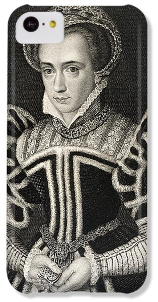 Queen Mary Aka Mary Tudor Byname Bloody IPhone 5c Case by Vintage Design Pics