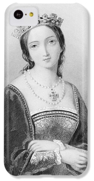 Queen Mary I, Aka Mary Tudor, Byname IPhone 5c Case by Vintage Design Pics