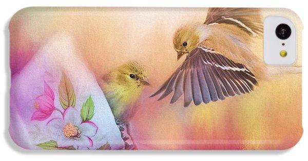 Raiding The Teacup - Songbird Art IPhone 5c Case by Jai Johnson