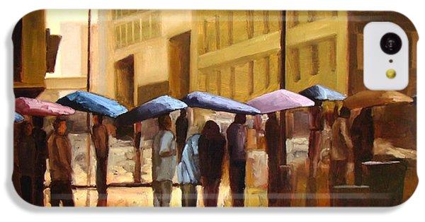 Rain In Manhattan Number Seventeen IPhone 5c Case by Tate Hamilton