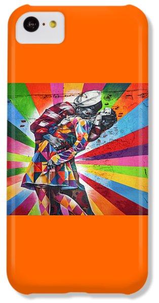 Rainbow Kiss IPhone 5c Case by Az Jackson