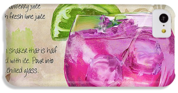 Rasmopolitan Mixed Cocktail Recipe Sign IPhone 5c Case by Mindy Sommers