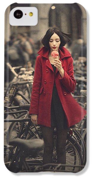raspberry sorbet in Amsterdam IPhone 5c Case by Anka Zhuravleva