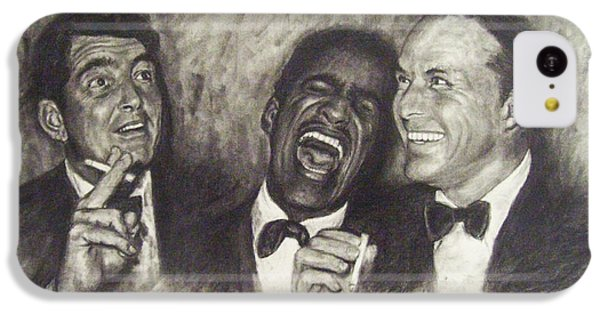 Rat Pack IPhone 5c Case by Cynthia Campbell