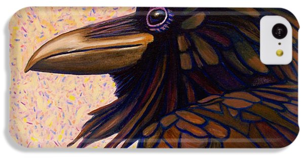 Raven Shaman IPhone 5c Case by Brian  Commerford