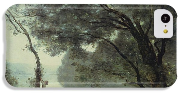 Recollections Of Mortefontaine IPhone 5c Case by Jean Baptiste Corot