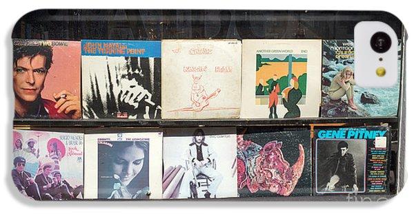 Record Store Burlington Vermont IPhone 5c Case by Edward Fielding