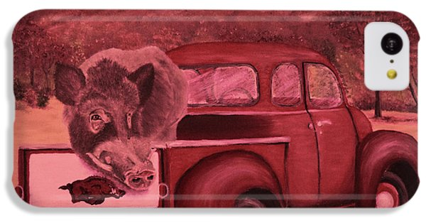 Ridin' With Razorbacks 3 IPhone 5c Case by Belinda Nagy