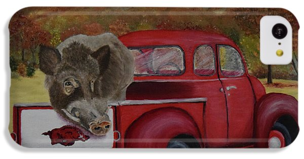 Ridin' With Razorbacks IPhone 5c Case by Belinda Nagy
